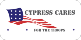 Cypress Cares for the Troops